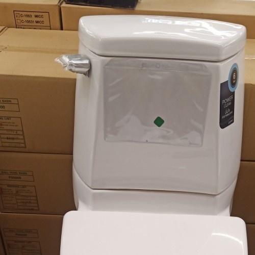 Cotto สุขภัณฑ์สองชิ้น รุ่น ไจแอนท์  C1341 สีขาว