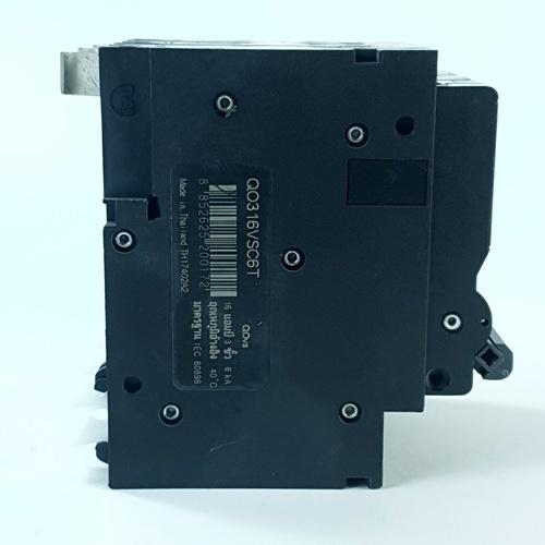 SCHNEIDER เบรคเกอร์-3P63A QO363VSC6T สีดำ