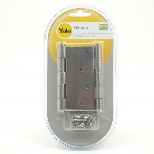 YALE บานพับประตู ขนาด  4x4x2.5 มม. HISL4425BB สเตนเลส