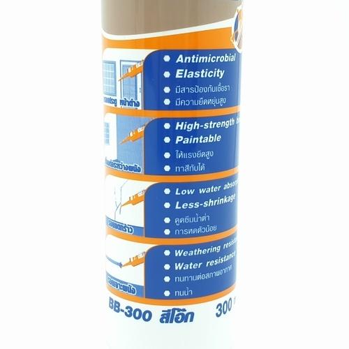 BESBOND อะคริลิค ซีลแลนท์ สีโอ๊ค  300 ml