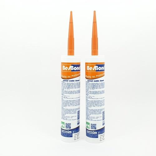 BESBOND อะคริลิค ซีลแลนท์ สีน้ำตาล 300 ml  สีน้ำตาลเข้ม
