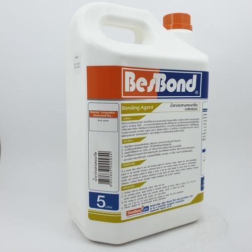 BESBOND น้ำยาประสานคอนกรีต  5ลิตร