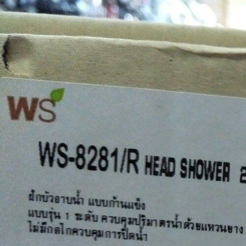 WS ชุดฝักบัวอาบน้ำแบบผสม  WS-8089R
