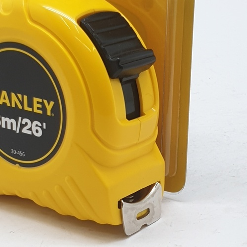STANLEY ตลับเมตร 8M. 30-456N เหลือง-ดำ