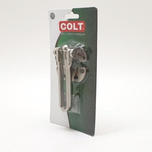 COLT กลอนรูด  #380  SS แผง 1X1 (ฟิล์มหด) สีโครเมี่ยม