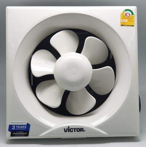 Victor พัดลมระบายอากาศขนาด 8 นิ้ว สำหรับติดปูน/ไม้ VW-204AUT สีขาว