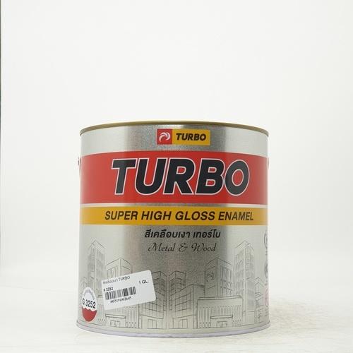 TURBO สีเคลือบเงา 1P535325201 Scarlet Medium