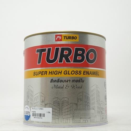TURBO สีน้ำมันเคลือบเงา  5372 - 1 กล.