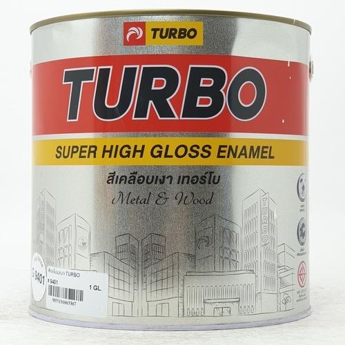 TURBO สีเคลือบเงา 1กล. G940