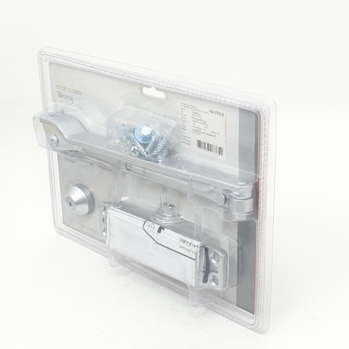 HAFELE โช๊คอัพประตู DIY 489.30.012 เงิน