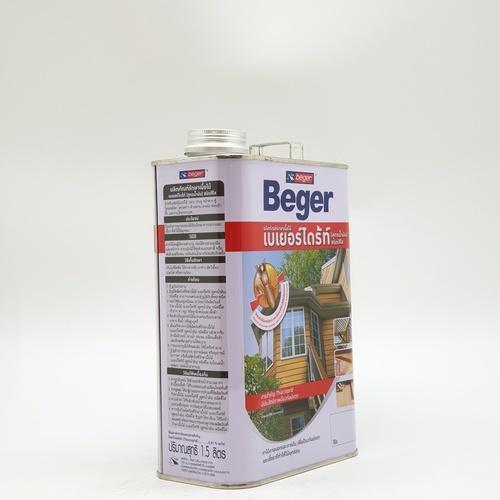 Beger ผลิตภัณฑ์รักษาเนื้อไม้ เบเยอร์ไดร้ท์ ชนิดทา สูตรน้ำมัน 1.5LT. สีใส