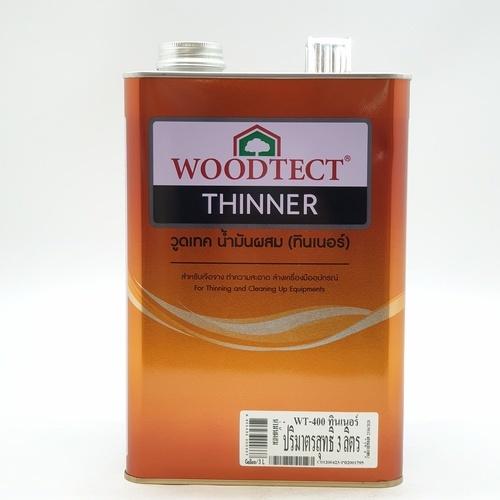 WOODTECT น้ำมันผสม  WT - 400 ใส