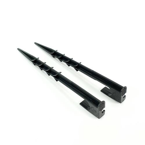 Super Products ขาปักยึดท่อ32มม.(10ขา/แพ็ค) RP ดำ