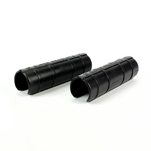 Super Products ตัวล็อคสแลน+พลาสติกชนิดไม่มีสปริง1/2นิ้ว(5ตัว/แพ็ก) GC XL สีดำ