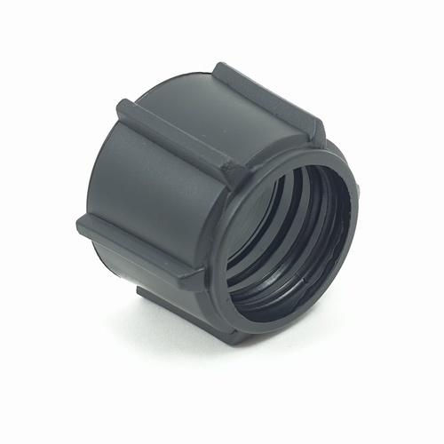 Super Products คลิปล็อคท่อพีอี PEC ดำ