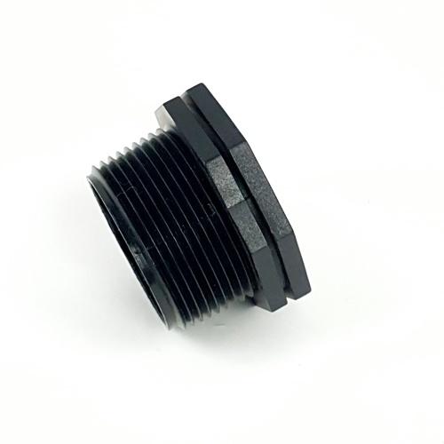 Super Products ข้อลดเหลี่ยมเกลียวนอก - ใน 1.1/2 นิ้ว x 3/4 นิ้ว RMF ดำ