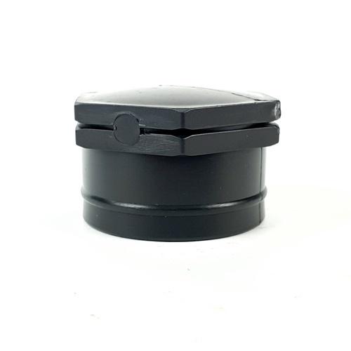 Super Products ปลัีกอุดเกลียวใน 1 นิ้ว (2 ตัว / แพ็ค) EPF ดำ