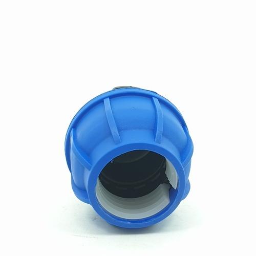 Super Products ฝาปิดปลายท่อ 40 มม. 356-21040 ฟ้า