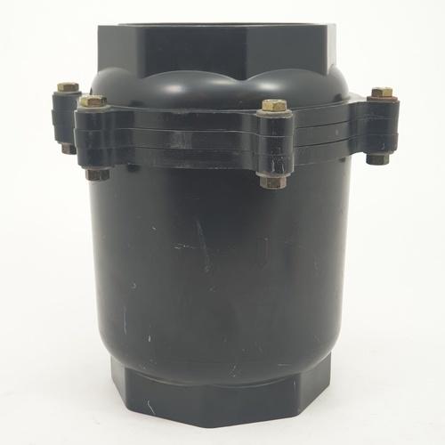 Super Products วาล์วกันน้ำย้อนกลับ 4 นิ้ว CV-N ดำ