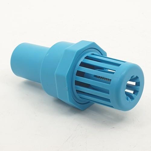 Super Products ฟุตวาล์ว พีวีซี 1 นิ้ว FV-PVC ฟ้า