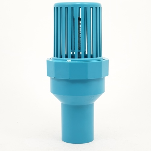 Super Products ฟุตวาล์ว พีวีซี 2 นิ้ว FV-PVC ฟ้า