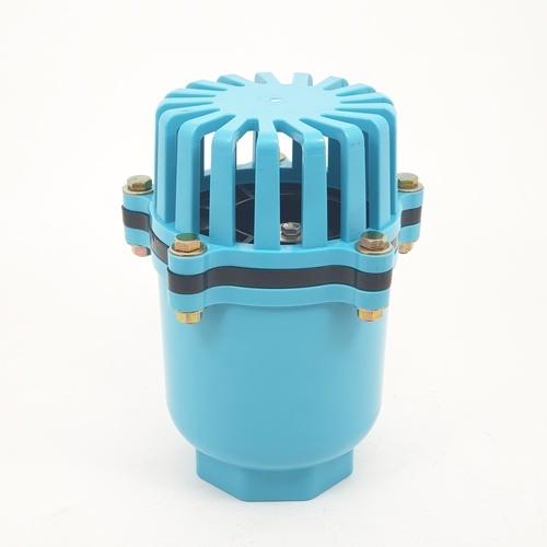 Super Products ฟุตวาล์วชนิดลิ้นพลาสติก 2.1/2 นิ้ว BFV-N  ฟ้า