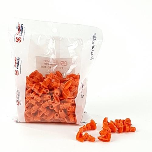 Super Products หัวฉีดสเปรย์ 180 องศา (100 ตัว / แพ็ค) FS180 E ส้ม
