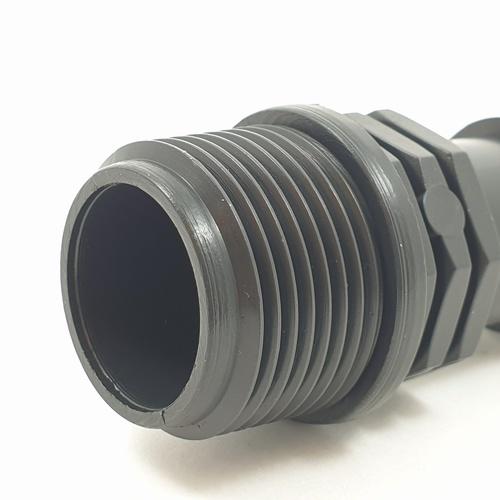 Super Products ข้อต่อแปลงเกลียวนอก 25มม.x3/4นิ้ว (10ตัว/แพ็ค) SM ดำ