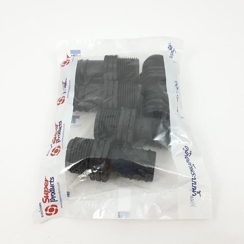 Super Products ข้อต่อแปลงเกลียว 32มม.x1นิ้ว (5ตัว/แพ็ค) SM 32 ดำ