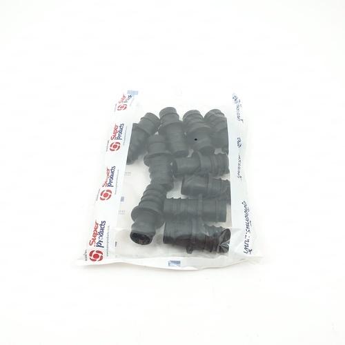 Super Products ข้อต่อท่อNPVC 25 มม.(10ตัว/แพ็ค) N PVC ดำ