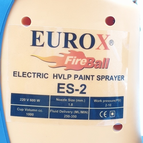 EUROX กาพ่นสีไฟฟ้า  ES-1