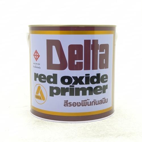 DELTA สีรองพื้นกันสนิม P-106 แดง