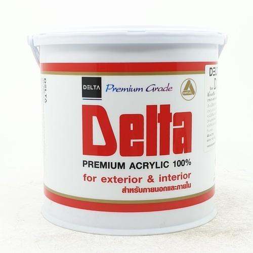 DELTA สีน้ำภายนอก  Base D ขาว