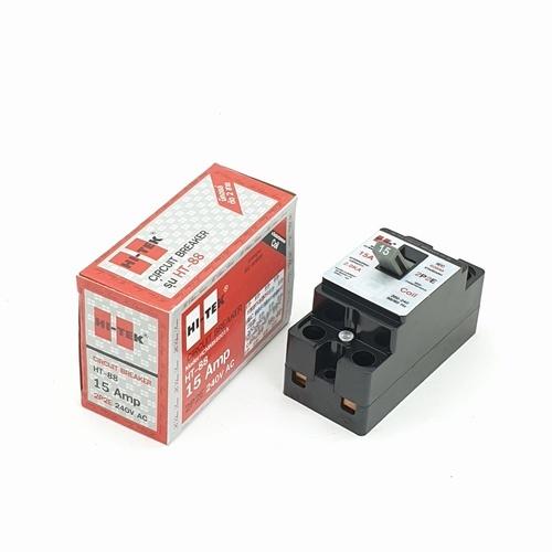 HI-TEK เบรกเกอร์HI-88-15Aสีดำ-มีคอยน์ HCMM880015