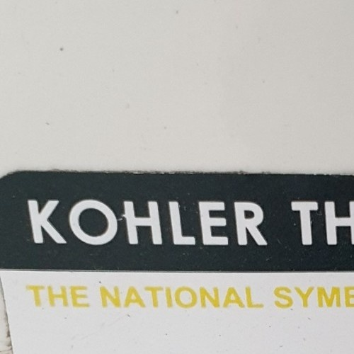 KOHLER สุขภัณฑ์แบบสองชิ้น ใช้น้ำ 3/4.8 ลิตร รีช K-75991X-S-0