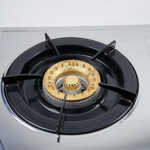 Lucky Flame เตาแก๊ส 2 หัวเตา แบบตั้งโต๊ะ หัวเตาทองเหลือง  AT-102