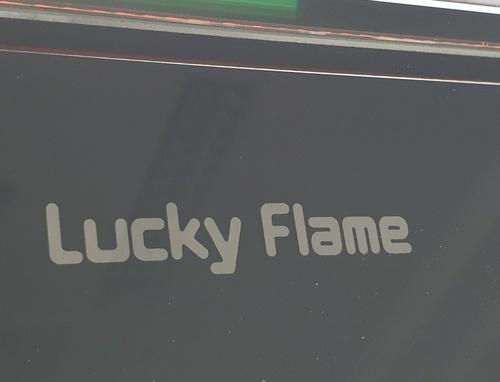 Lucky Flame เตาแก๊สตั้งโต๊ะหน้ากระจก 2หัว  AG-102S