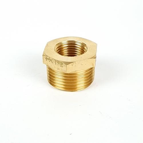 ANA ข้อลดเหลี่ยม 1-1/2 นิ้ว ก5I314-2-025-015-5-P ทองเหลือง