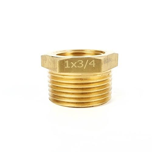 ANA ข้อลดเหลี่ยมทองเหลือง 1นิ้วx3/4นิ้ว TP-BU314