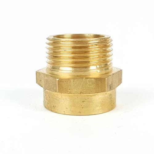 ANA ข้อต่อตรงทองเหลืองผม.3/4นิ้ว TP-SOFM328-20