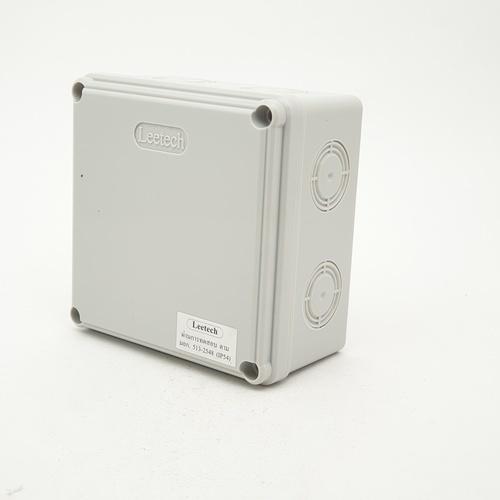 LEETECH กล่องกันน้ำลีเทค WB 404 G สีเทา