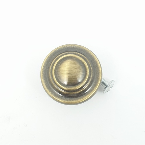HAFELE ปุ่มจับซิงค์อัลลอยด์ ขนาด 34 มม.   481.22.041 ทองเหลืองรมดำ