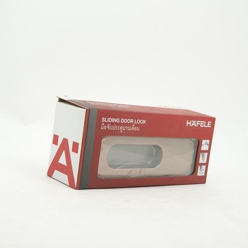 HAFELE HAFELE มือจับประตูบานเลื่อนซิงค์อัลลอยด์บานหลอก 499.65.104 สีทองแดงรมดำ 499.65.104