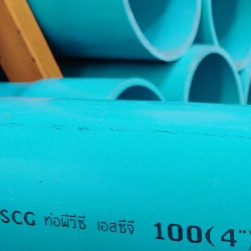 SCG ท่อพีวีซี 4 นิ้ว(100) ชั้น 8.5  ปลายบาน