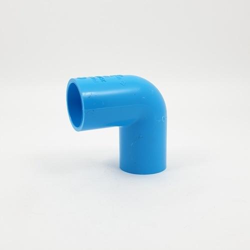 SCG  ข้องอ 90  หนา 1นิ้ว(25)  สีฟ้า