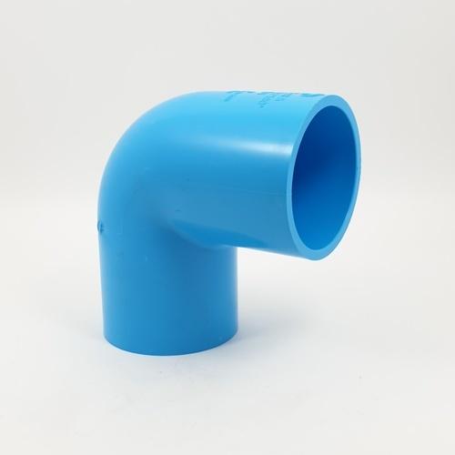 SCG ข้องอ90 หนา 2.1/2นิ้ว (65) สีฟ้า