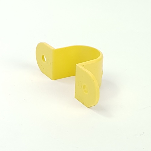 SCG กิ๊บรัดท่อสีเหลือง 1/2นิ้ว(18) เหลือง
