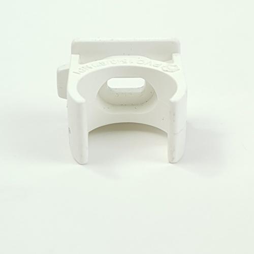SCG คลิปก้ามปูร้อยสาย  3/8นิ้ว ขาว