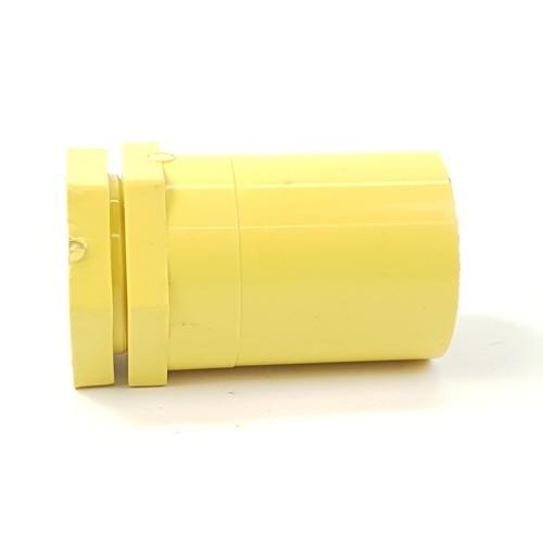 - ข้อต่อเข้ากล่องร้อยสายเหลือง1.1/4 -