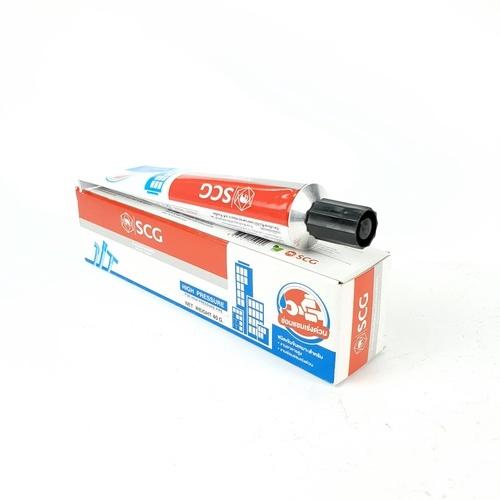 น้ำยาประสานท่อตราช้าง-เข้มข้น 40 กรัม  - ขาว